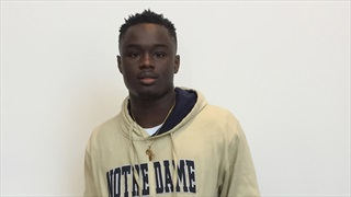 Watch Notre Dame's early enrollees arrive on campus