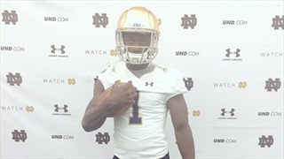 Notre Dame Has 2019 RB Sampson James' Attention