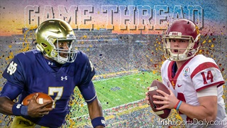 Official Game Thread: #11 USC at # 13 Notre Dame