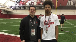 2019 Wisconsin ATH Excited To See Notre Dame