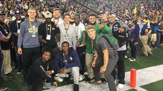 Notre Dame Welcomes The 2018 Recruiting Class