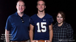 Notre Dame's Signees Say Thank You
