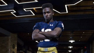 Notre Dame WR Signee Lawrence Keys III Pumped Up For June Arrival