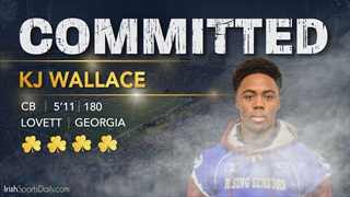 BREAKING: 2019 Four-Star CB KJ Wallace Headed To Notre Dame