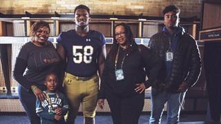 Mazi Smith Talks Notre Dame & More