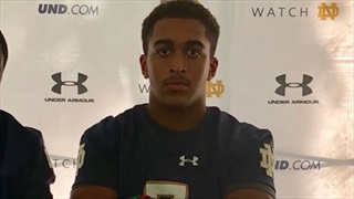 Notre Dame Trip Well Worth It For 2021 OH LB Devon Williams