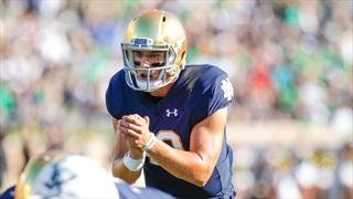 Notre Dame Names Ian Book Starting Quarterback