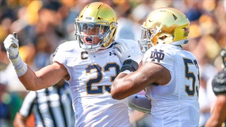 Instant Reaction   Notre Dame 56 Wake Forest 27