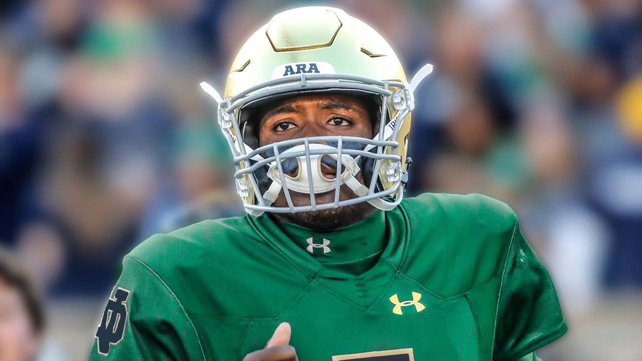 new styles 47f63 c7c2b Notre Dame Will Wear Green On Saturday | Irish Sports Daily