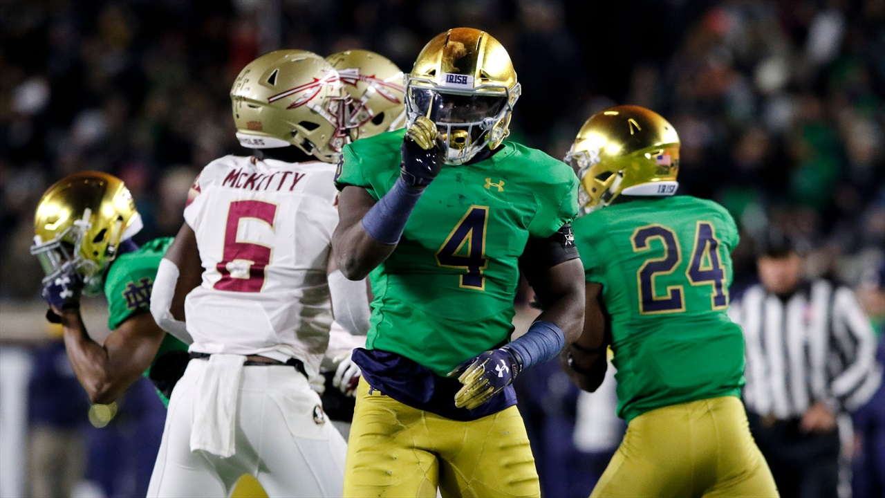 Photo Gallery Notre Dame 42 Florida State 13 Irish Sports Daily