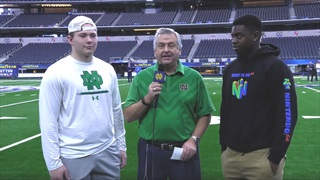 Cotton Bowl Video | NaNa Osafo-Mensah and Hunter Spears