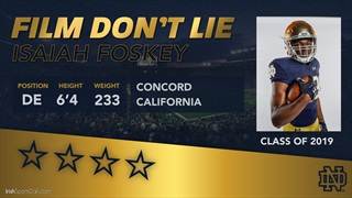 Film Don't Lie | Isaiah Foskey