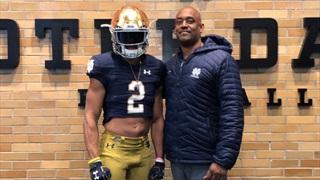 Elite 2021 WR Emeka Egbuka Talks Notre Dame & More