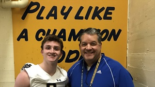 2021 WR Liam Clifford Impressed With Notre Dame Visit