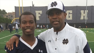 2022 ATH Terian Williams Enjoys Notre Dame Return