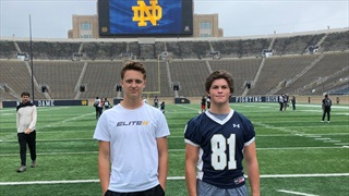 2022 QB Gunnar Smith Previews Notre Dame Return