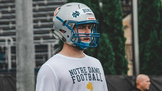 2021 OL Mason Bundy Enjoys First Trip To Notre Dame