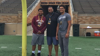 "Top 2021 DL George Rooks Recaps ""Great"" Visit To Notre Dame"