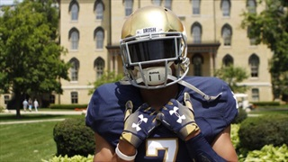 2020 ATH Will Nixon Comfortable With Notre Dame's Plan