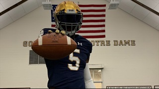 2021 LB/S Bryce Steele Looking Forward To Building Relationship With Notre Dame