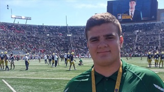 2021 PA OL Mitch Miles Gets First Look At Notre Dame