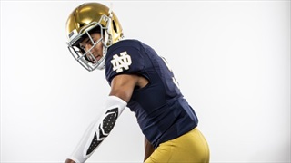 Notre Dame Atmosphere Strikes 2021 WR Jace Williams