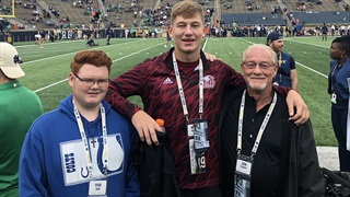 2021 OL Michael McLaughlin Makes Most Of Midwest Return
