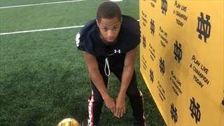 "2022 ATH Quincy Briggs Calls Notre Dame An ""Exciting Atmosphere"""