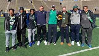 Recruiting Not Slowing Down for Notre Dame