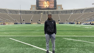 "2022 RB Tevin White Breaks Down ""Amazing"" Notre Dame Visit"