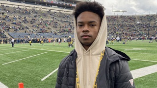 """2021 WR Jacob Gill Recaps """"Great"""" Visit To Notre Dame"""