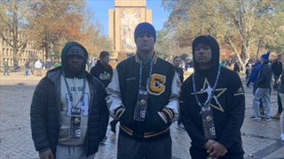 2022 WR Tommy Winton Checks Out Notre Dame