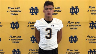 2021 S Mitch Leigber Thinks He'd Fit In At Notre Dame After Visit
