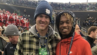 2021 ATH Andrew Wilson-Lamp Impressed With Notre Dame Stop