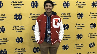 2021 WR/DB AJ Barber Impressed With Recent Notre Dame Visit
