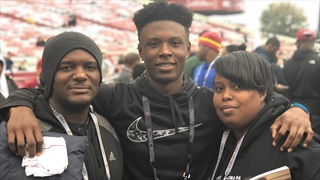 2021 DB Dre Pinckney Ready To Check Out Notre Dame