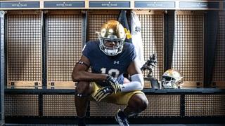 2021 Notre Dame DE Commit David Abiara Updates Recruitment