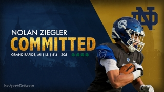 BREAKING | 2022 Four-Star LB Nolan Ziegler Commits to Notre Dame