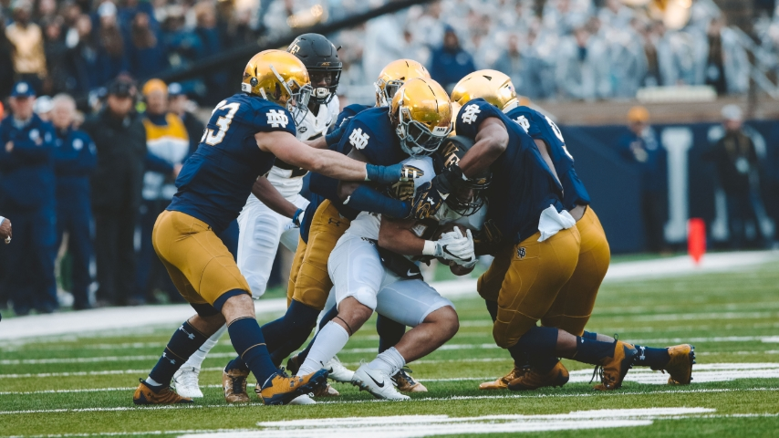 Notre Dame Postpones Saturday's Game at Wake Forest