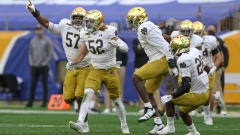Explosive ... defense? For No. 3 Notre Dame, absolutely