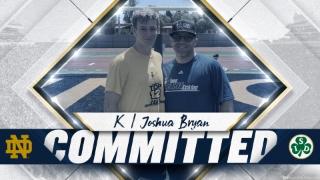 BREAKING | Notre Dame Flips Nation's Top Kicker Joshua Bryan