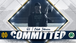BREAKING | 2021 OL Caleb Johnson Commits To Notre Dame