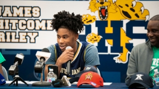 Photo Gallery | Blake Wesley Commits to Notre Dame