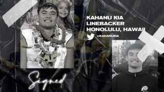 Signed | Three-Star LB Kahanu Kia