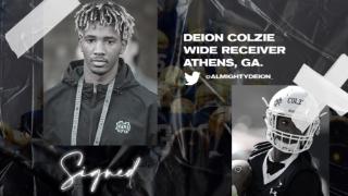 Signed | Four-Star WR Deion Colzie
