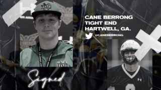 Signed   Four-Star TE Cane Berrong