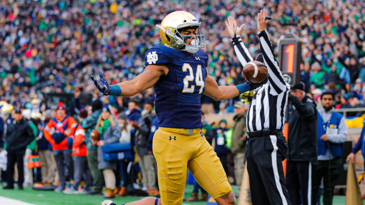 Notre Dame TE Tommy Tremble Declares for NFL Draft   Irish Sports Daily