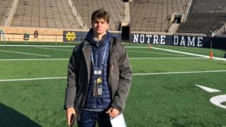 2022 CA DB Cooper Barkate Talks Notre Dame Offer