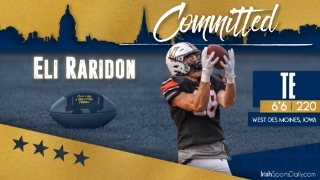 BREAKING | 2022 TE Eli Raridon Commits to Notre Dame