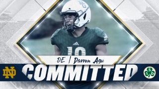 BREAKING | Notre Dame Lands Commitment from 2022 DE Darren Agu